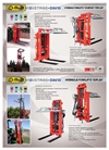 Model DUPLEX - Hydraulic Forklifts Brochure
