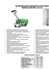 Lince - Model MTS-20 and MTS-25 - Horizontal Self Propelled Single Auger Brochure