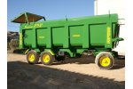 Model 18 TR3- 23,50 m³ - Three axle Dump Trailers