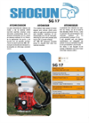 SG-17 - Motorised Sprayers Brochure
