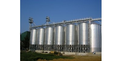 Metallic Base Silos