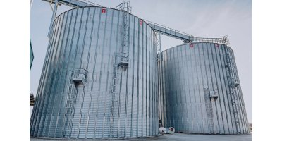 Corrugated Steel Sheet Flat Bottom Silo