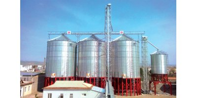 Hopper Bottom Grain Storage Silos