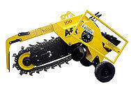 Model MH 100 - Excavator Mounted Trencher