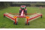 Enoagricola Rossi - Model Pull type V rake  - Easy Rake Superstar