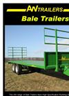 AW - Model 12 & 14 Tonne - Bale Trailers - Datasheet