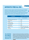 AntiBiotic - Vegetable Oil-Seed - Datasheet