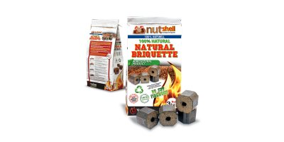 Ecological Briquettes for Barbecues
