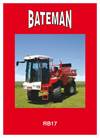 Bateman RB17 Sprayers Engine and Transmission Brochure