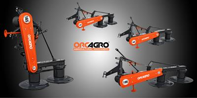 ORCAGRO  - Model ORCRM - Rotary Drum Mower