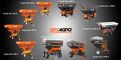 ORCAGRO  - Model ORCFS - Fertilizer Spreaders