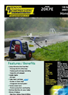 Brendon - Model 20KPE - Mobile Petrol Powerwasher Brochure