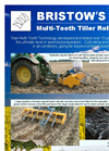 BRISTOW Multi-Tooth Tiller Roll Products Brochure