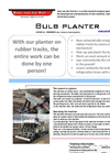 Freesia - Bulb Planter Brochure