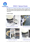 Model SOLO 1 - Spinner Feeder Brochure