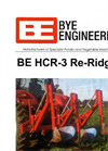 Bye Engineering - Model BE HCR-3 - High Clearance Re-Ridger for Potatoes Brochure