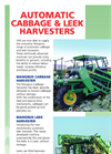Automatic Cabbage and Leek Harvesters- Brochure