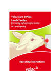 Volac - Model Ewe 2 Plus - Feeder Brochure