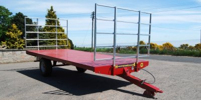 Marshall - Model BC/18 - Agricultural Flat / Bale Trailers