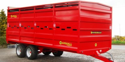Marshall - Model 21 - Agricultural Livestock Trailers