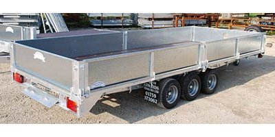 Flat Bed Trailers