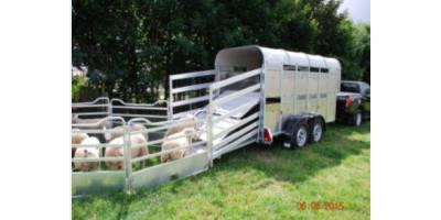 Graham Edwards - Model 6,3 FT - Livestock Trailers