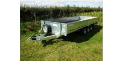 Tri-Axle Flatbed Trailer