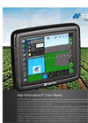 LH Agro - Model X25 - Touchscreen Console Brochure
