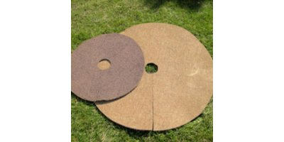 Tree Mats - Model TM - Biodegradable Coconut Fiber Tree Mats
