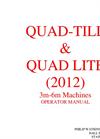 Quad-till Lite - Cultivator Brochure