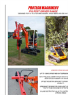 Model P10 - Digger Mounted Post Drivers Brochure