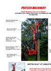 Model P220+ - Front Loader/Telehandler Mounted Post Driver Range Brochure