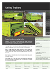 HM Trailers - Utility Trailers Brochure