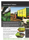HM Trailers - Horse Muck Trailers Brochure