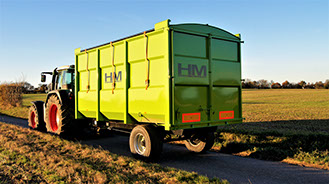 HM Trailers - Horse Muck Trailers