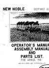 Model 915 - Rotary Harrow Manual