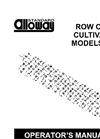 Row Crop Cultivators Manual