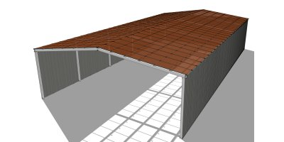 Agricultural Solar PV Barn