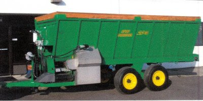 Model SS15 - Mulch/Sawdust Spreader