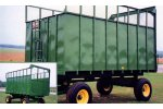 Model #1010  - Hydraulic Silage Wagon / Trailer