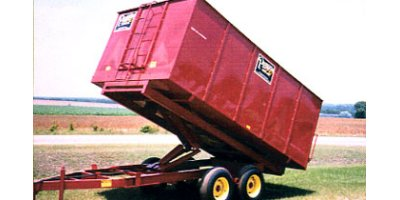 Model VPM-7 - 14 Series - Single Axle Hydraulic Drying Wagon / Trailer