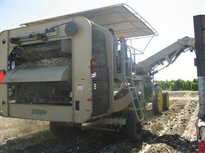Top Air - Model 2400 - Garlic Loader