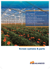 Screen systems & parts - Brochure