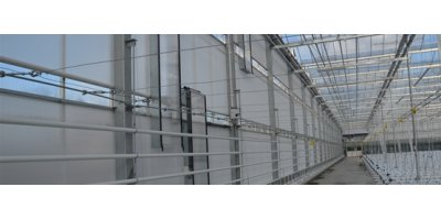 ALWECO - Integrated Roll Greenhouse Screen