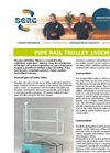 Model 150 - Pipe Rail Spray Trolley Brochure