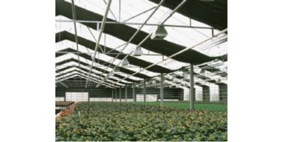 Blackout in Wide Span Greenhouse