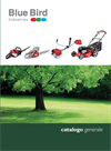 Blue Bird - Model MZ 60S P - Motor Tillers Brochure