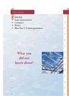Truss Rail System Brochure