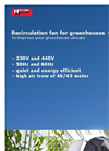 CAF45 - Recirculation Fans Brochure