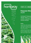 Hortipray - 13-0-46 (NOP) - Potassium Nitrate Datasheet